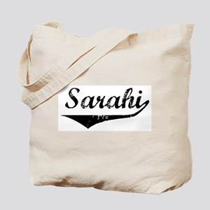 Sarahi Vintage (Black) Tote Bag